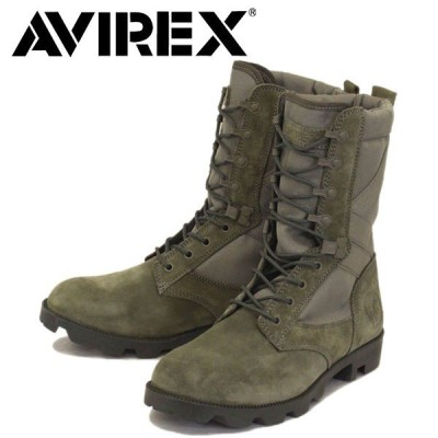 AVIREX U.S.A.(アビレックス) AV2001 COMBAT コンバット スエードブーツ SMOKE GREY SUEDE