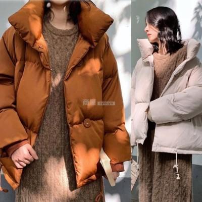 ダウンコート ダウン綿コート 軽い 大きいサイズ 中綿コート 2019秋冬新作 レディース Aライン ダウンジャケット レディース 上品