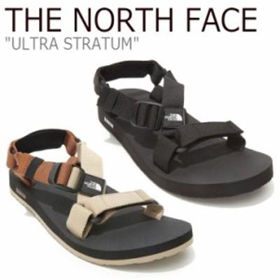 ノースフェイス サンダル THE NORTH FACE ULTRA STRATUM ウルトラ ストレータム BLACK ブラック BEIGE ベージュ NS98L41J/K/A/B シューズ