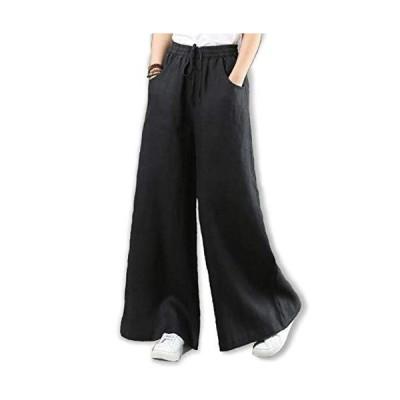 [スプリングスワロー] レディース アクティブ リラックス レギンス ロングパンツ ワイドパンツ ズボン ルームウェア ウエストゴム 紐 女