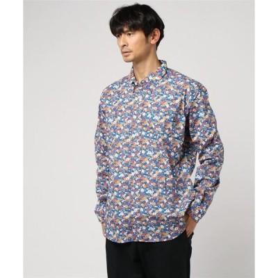 シャツ ブラウス tuktuk ペニダフローラルシャツ