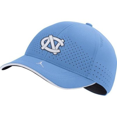 ジョーダン メンズ 帽子 アクセサリー Jordan Men's North Carolina Tar Heels Carolina Blue AeroBill Classic99 Football Sideline Hat