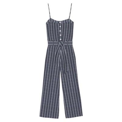 レイルズ ワンピース トップス レディース Harper Tie Waist Crop Jumpsuit Lapis Stripe