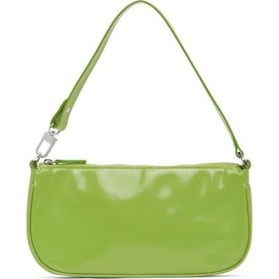 バイ ファー BY FAR レディース ショルダーバッグ バッグ Green Patent Rachel Bag Lime