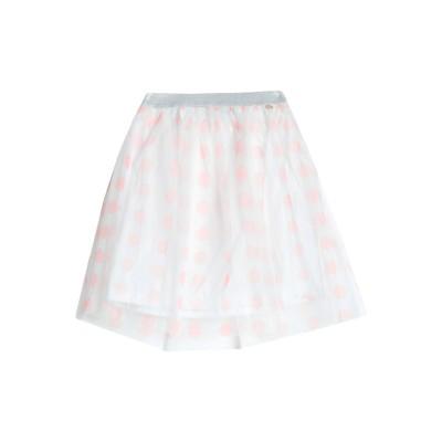 MANGANO ひざ丈スカート ピンク L ポリエステル 100% ひざ丈スカート