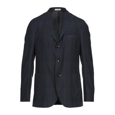 ボリオリ BOGLIOLI テーラードジャケット ダークブルー 50 バージンウール 100% テーラードジャケット