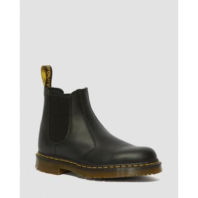 ドクターマーチン 国内正規品 レディース ウィメンズ メンズ チェルシー ブーツ 安全靴 レザー ブラック Dr.Martens 2976 SR