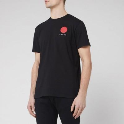 エドウィン Edwin メンズ Tシャツ トップス Japanese Sun T-Shirt - Black Black