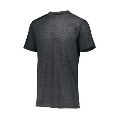 Augusta Sportswear Tri-Blend T-Shirt, Black Heather, L【並行輸入品】