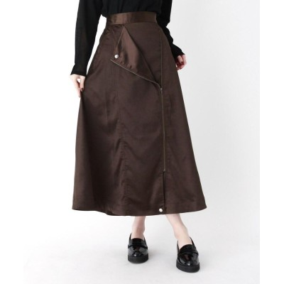ZAMPA(ザンパ) ライダース風デザインフレアスカート