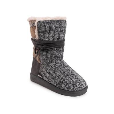ムクルクス ブーツ&レインブーツ シューズ レディース Women's Clementine Cold Weather Boots Dark Grey