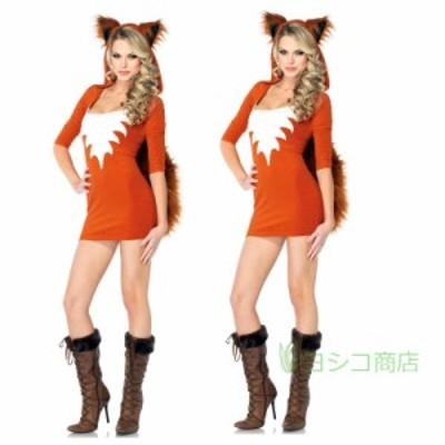 ハロウイン レディース コスプレ 仮装 猫 ねこ 稲荷 オールインワン ステージ衣装 キャット キツネ 学園祭 文化祭