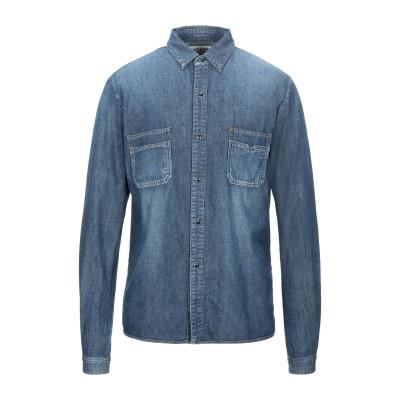 SAINT LAURENT デニムシャツ ブルー XL コットン 100% デニムシャツ