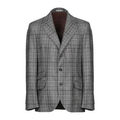 ブルネロ クチネリ BRUNELLO CUCINELLI テーラードジャケット 鉛色 50 ウール 100% テーラードジャケット