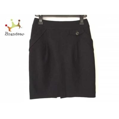 ピンキー&ダイアン Pinky&Dianne スカート サイズ36 S レディース 黒  スペシャル特価 20210313
