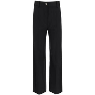 PATOU/パトゥ Black Patou trousers in virgin wool レディース 秋冬2020 TR0020005999B ik
