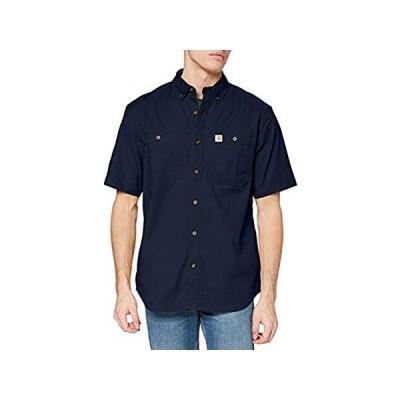 Carhartt メンズ Rugged Flex Rigby 半袖ワークシャツ US サイズ: X-Large カラー: ブルー