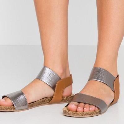 レディース サンダル CARIBE - Sandals - cocco/gun metal