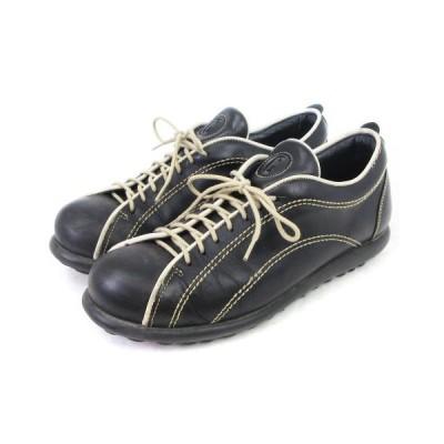 【中古】カンペール CAMPER カジュアル シューズ レザー スニーカー 紺 ネイビー系 42 靴 ■SM メンズ 【ベクトル 古着】