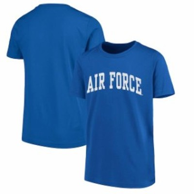New Agenda ニュー アジェンダ スポーツ用品  New Agenda Air Force Falcons Youth Royal Arch T-Shirt