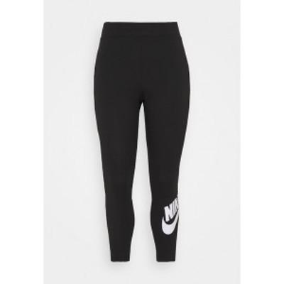 ナイキ レディース レギンス ボトムス FUTURA  - Leggings - Trousers - black/white black/white