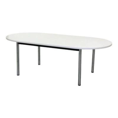 TOKIO ミーティングテーブル 楕円型 2100×1050mm ホワイト TC2105RW [TC-2105R-W][r21][s9-833]
