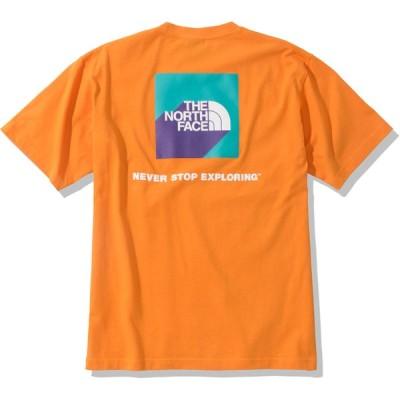 メール便OK THE NORTH FACE(ザ・ノースフェイス) NT32010 メンズ ショートスリーブ3Dスクエアロゴティー 半袖Tシャツ