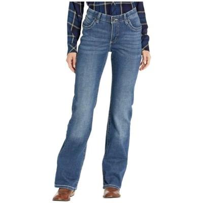 ラングラー Wrangler レディース ジーンズ・デニム ブーツカット ボトムス・パンツ Willow Mid-Rise Riding Bootcut Jeans Davis