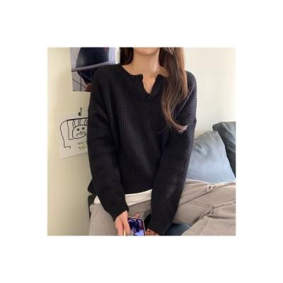 【送料無料】女性 セーター 秋冬 アウトドア 年 ルース 小 襟 手厚い ヘッジ 怠 | 364331_A64150-7631647