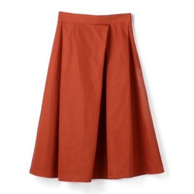 スカート ESTNATION / タフタタックフレアスカート