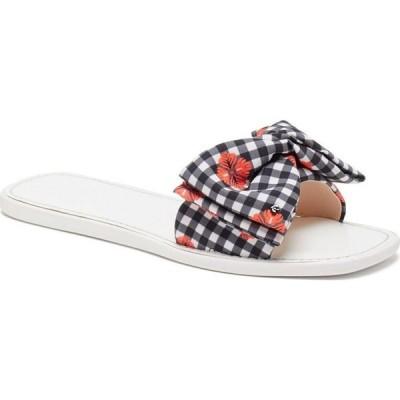 ケイト スペード kate spade new york レディース サンダル・ミュール シューズ・靴 Bikini Slide Sandals Fresh White/radcoral