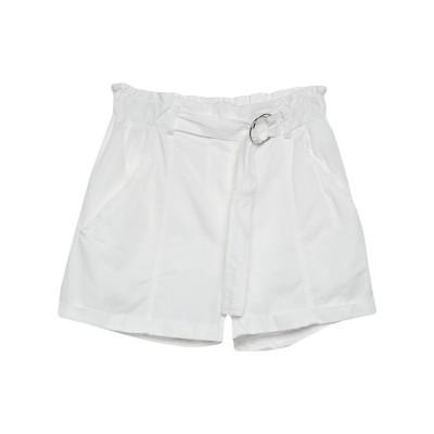 VICOLO ショートパンツ ホワイト S コットン 100% ショートパンツ