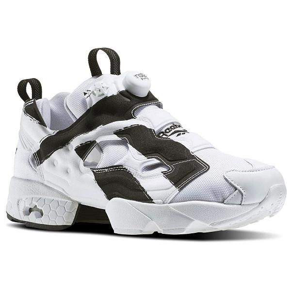 REEBOK INSTA PUMP FURY OVERBRANDED OB 白黑 男 運動鞋 REE002