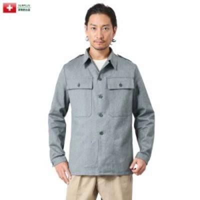 実物 新品 スイス軍 後期型 デニムワークジャケット【Sx】