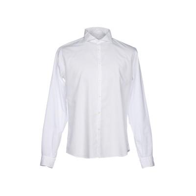 MICHAEL COAL シャツ ホワイト 43 コットン 100% シャツ