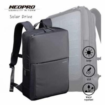 選べるノベルティ8種 クーポンあり あす楽 エンドー鞄 ビジネスバッグ メンズ 2-861 NEOPRO Solar Drive リュック ポリエステルドビー PC