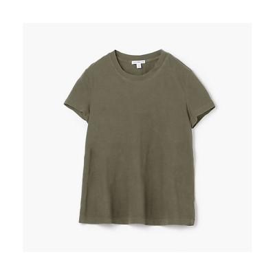 <JAMES PERSE(Women)/ジェームスパース> ベーシック クルーネックTシャツ WLJ3114 57カーキ【三越伊勢丹/公式】