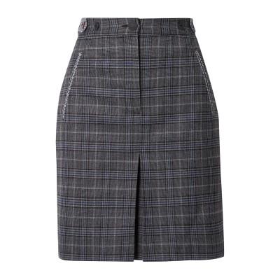ラグアンドボーン RAG & BONE ひざ丈スカート 鉛色 6 ウール 53% / ポリエステル 45% / ポリウレタン 2% ひざ丈スカート