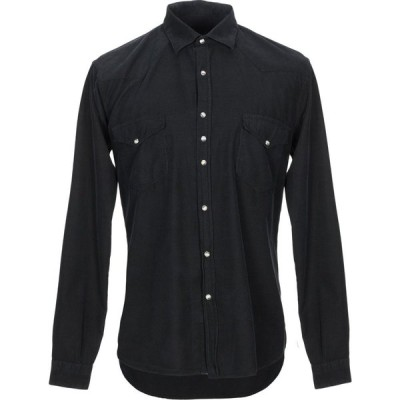 コストメイン COSTUMEIN メンズ シャツ トップス solid color shirt Black