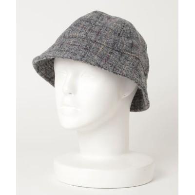 BEAMS MEN / BEAMS / ハリスツイード ボール ハット MEN 帽子 > ハット