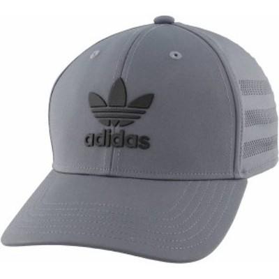 アディダス メンズ 帽子 アクセサリー adidas Originals Men's Beacon II Precurve Snapback Hat Onix/Black
