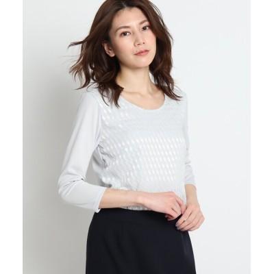 COUP DE CHANCE / 【洗える】ダイヤスムースカットソー WOMEN トップス > Tシャツ/カットソー