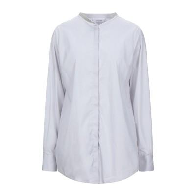 アリーニ AGLINI シャツ ライトグレー 44 コットン 78% / ナイロン 18% / ポリウレタン 4% シャツ