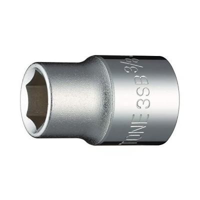 トネ(TONE) ソケット(6角) 差込角9.5mm(3/8) 3SB-12 二面幅3/8inch インチ