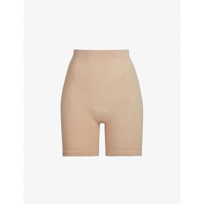 スキムズ SKIMS レディース インナー・下着 Sculpting high-rise stretch-woven shorts CLAY