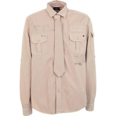 メイソンズ MASON'S メンズ シャツ トップス Solid Color Shirt Beige