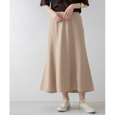 リネンライクセミマーメイドスカート
