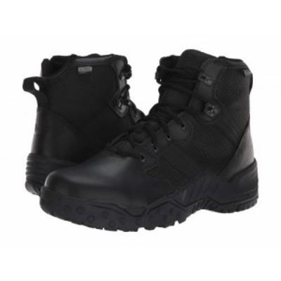Danner ダナー メンズ 男性用 シューズ 靴 ブーツ ワークブーツ Scorch 6 Side Zip Waterproof Black【送料無料】