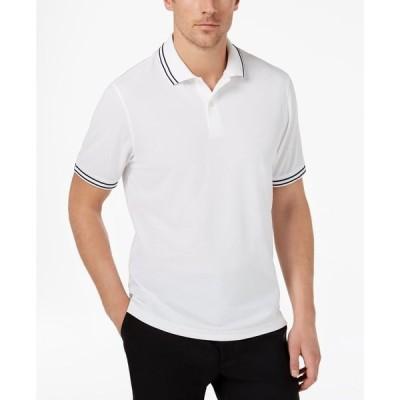 クラブルーム Club Room メンズ ポロシャツ トップス Performance Polo Bright White