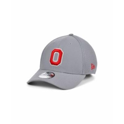 ニューエラ レディース 帽子 アクセサリー Ohio State Buckeyes Grayed Out Neo 39THIRTY Cap Gray